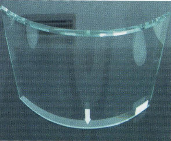 常熟CY弯曲钢化玻璃